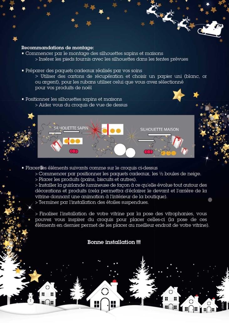 Kit Creation Boule De Noel.Tous à Vos Vitrines Moulins Viron